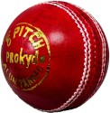 Prokyde ? Pitch Cricket Ball -   Size: 3,  Diameter: 2.5 Cm - Pack Of 1, Red