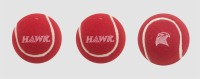Hawk Practice,Pack Of 3 Cricket Ball -   Size: Standard,  Diameter: 2.5 Cm (Pack Of 3, Maroon)