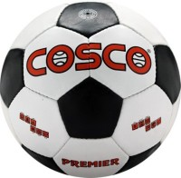 Cosco Premier Football -   Size: 5,  Diameter: 21 Cm (Pack Of 1, White)