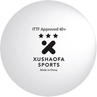 Xushaofa Seamless 3 Star Poly Ping Pong Ball -   Size: 4,  Diameter: 4.01 Cm (Pack Of 6, White)