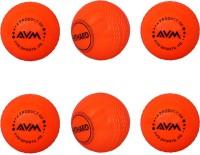 AVM Windball-11 Cricket Ball -   Size: Standard,  Diameter: 6.5 Cm (Pack Of 6, Red)