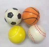 Elan PU BALLS Ping Pong Ball -   Size: 5,  Diameter: 25 Cm (Pack Of 4, Multicolor)