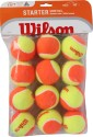 Wilson Starter Game Tennis Ball - Pack Of 12, Multi-Color