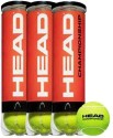 Head Championship Tennis Ball -   Size: 7,  Diameter: 6.7 Cm - Pack Of 12, Yellow