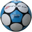 Speed Up Kick Cross Football - Size: 5 - Pack Of 1, White, Blue