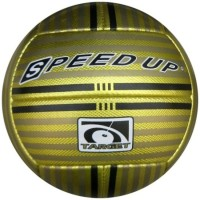 Speed Up Target Leatherite Football -   Size: 5,  Diameter: 30 Cm (Pack Of 1, Multicolor)