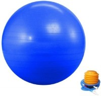 Gadget Bucket Gym Ball 75cm Exercise Ball With Foot Pump Gym Ball -   Size: 75 Cm,  Diameter: 75 Cm (Pack Of 1, Multicolor)