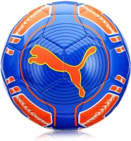Puma EvoPower 6 Trainer MS Football -   Size: 5,  Diameter: 22 Cm (Pack Of 1, Blue, Orange)