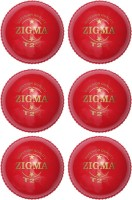 Zigma T 20 Cricket Ball -   Size: 6,  Diameter: 7.15 Cm (Pack Of 6, Red)