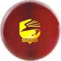 Osprey OS 500 Cricket Ball -   Size: 5,  Diameter: 2.5 Cm - Pack Of 6, Red