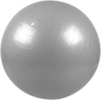 Liveup Anti Burst Gym Ball - Size: 75, Diameter: 75 Cm (Grey)