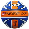 Speed Up Magic Football - Size: 3 - Pack Of 1, Blue, Orange