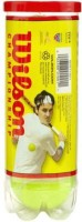 Wilson Championship Tennis Ball -   Size: 1,  Diameter: 2.5 Cm (Pack Of 6, Yellow)