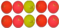 SUNNY KSI WIND Cricket Ball -   Size: FULL SIZE,  Diameter: 7.03 Cm (Pack Of 10, Multicolor)