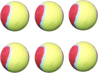 Vani Sports Light Ball Cricket Ball -   Size: 3,  Diameter: 2 Cm (Pack Of 6, Multicolor)