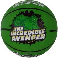 Disney Hulk Basketball -   Size: 5,  Diameter: 70 Cm (Pack Of 1, Green)