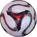 Hikco Red World Football -   Size: 5,  Diameter: 22 Cm - Pack Of 1, Multicolor