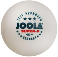 Joola Super-P 3 Star Plastic Ping Pong Ball -   Size: 4,  Diameter: 4 Cm (Pack Of 6, White)