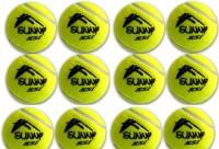 GINWALA TENNIS Cricket Ball -   Size: FULL,  Diameter: 7.03 Cm (Pack Of 12, Yellow)