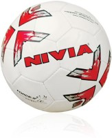 Nivia FB-275 Force Fustal Football - Size: 4, Diameter: 20 Cm (Pack Of 1, White)