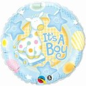 Fusion Balloons It's A Boy Soft Giraffe (18 Inch) Printed Balloon - Multicolor, Pack Of 1