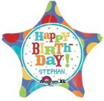Anagram Happy Birthday Star Shape