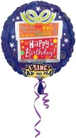 Anagram Happy Birthday Present Jumbo Sing A Tune Printed Balloon (Multicolor, Pack Of 1)