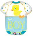 Anagram Baby Boy Bodysuit Printed Balloon - Multicolor, Pack Of 1