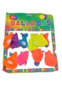SNB 12pc Neon Color Hbd Printed Printed Balloon - Multicolor, Pack Of 1