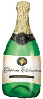 Anagram Champagne Bottle Supershape