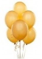 Party Anthem Solid Balloon (Gold, Pack Of 50)