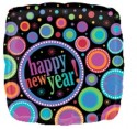 """Anagram Ring In The New Year 18"""" Printed Balloon - Multicolor, Pack Of 1"""