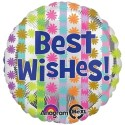 Anagram Bright Best Wishes Printed Balloon - Multicolor, Pack Of 1