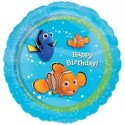Anagram Nemo Happy Birthday   18 Inches Printed Balloon - Multicolor, Pack Of 1