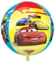 Anagram Cars Orbz Printed Balloon - Multicolor, Pack Of 1