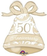 Anagram 50th Anniversary Bell Supershape