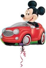 Fusion Balloons Mickey Driving Car