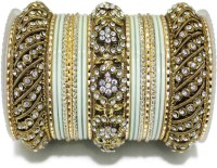 Leshya LSH 1041 Brass Brass Plated Bangle Set Pack Of 23