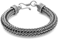 Voylla Artifictial Oxidised Alloy Silver Plated Bracelet