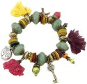 Young & Forever Eternal Charm Beads Alloy Charm Bracelet