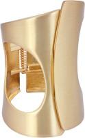 Crunchy Fashion Classic Cuwork Silver Alloy Rose Gold Cuff