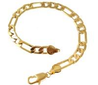 Ammvi Creations Figaro Links Sleek For Men Stainless Steel Bracelet