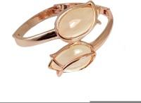Ammvi Creations Blessed Buds Rose Gold Alloy Bracelet For Women Alloy Bracelet