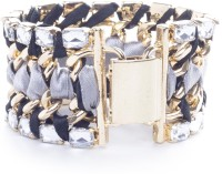 Adorelabel Bold And Beautiful Fashion Knitted Zinc Bracelet