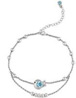 NEVI Multi Strand Alloy, Crystal Swarovski Crystal, Crystal Bracelet
