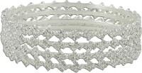R18Jewels-Fashion&U Princess Sparkle Metal Bangle Set Pack Of 4