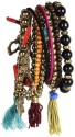 The Pari Alloy Bracelet Set - Pack Of 8