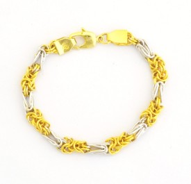 Dilan Jewels Alloy Yellow Gold Bracelet