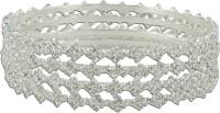 R18Jewels-Fashion&U Princess Sparkle Metal Bangle Set (Pack Of 4)