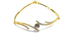 Sempre Of London Designer Bracelete Alloy 22K Yellow Gold Plated 22 Bracelet